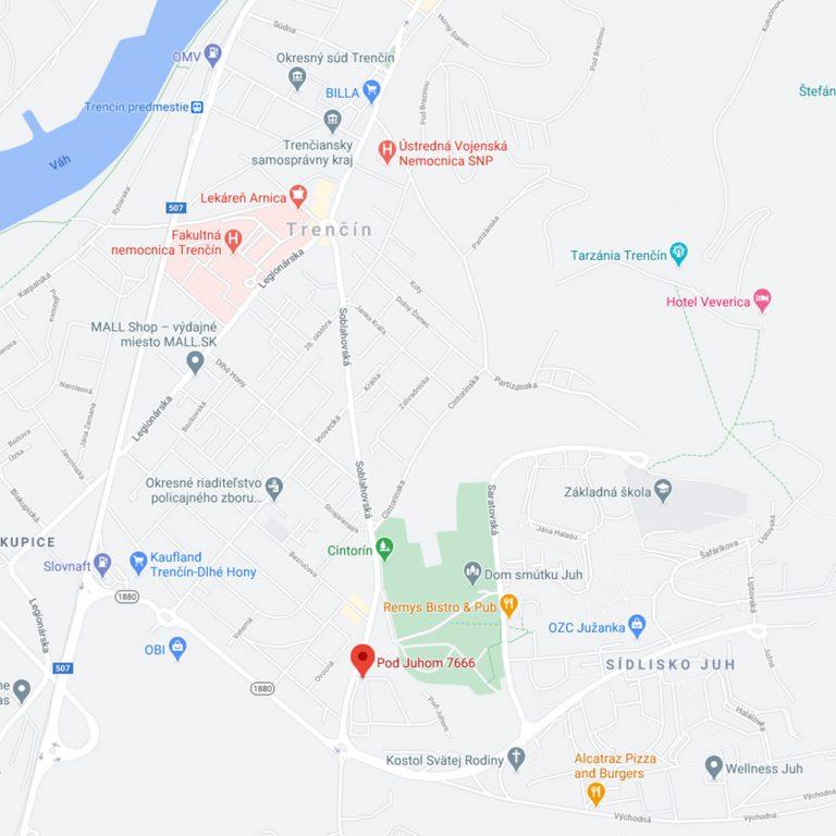 Virtuálne sídlo Trenčín