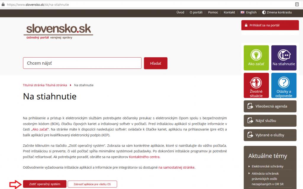 Instalacia Slovensko Sk Krok2