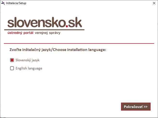 Instalacia Slovensko Sk Krok5