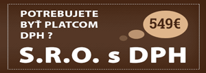 s.r.o. - platca DPH